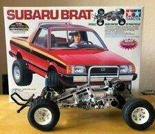 Tamiya Subaru Brat 58384 Limited Edition Frame 2 Bodies never run with Box CULT