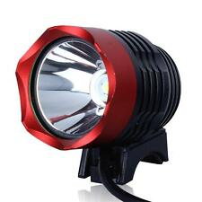 DC Power Waterproof 1200 Lumen T6 LED MTB Bike Bicycle Light Headlamp Headlight
