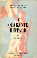 Jean Cassou - Le Quarante Huitard - Puf