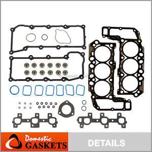 Fits 02-05 Dodge Ram Durango Dakota Jeep Liberty 3.7L SOHC MLS Head Gasket Set