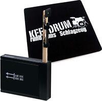 Schlagwerk SET 75 Heck Stick /Side Kick + keepdrum Cajon Pad