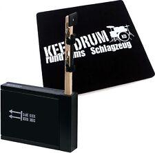 Percussion set 75 Heck stick/side kick + KEEPDRUM Cajon pad