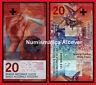 SUIZA SWITZERLAND SUISSE 20 Francs franchi 2015 (2017) Hybrid Pick 76 SC /  UNC