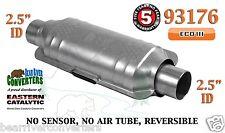 """93176 Eastern Universal Catalytic Converter ECO III 2.5"""" 2 1/2"""" Pipe 12"""" Body"""