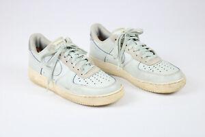 Nike Air Force 1 Devin Booker LV8 Moss Point Blue White Shoes Sz 9.5 CJ9716-001
