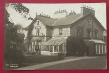 OLD POSTCARD THE VICARAGE CASTERTON  POSTED 1921