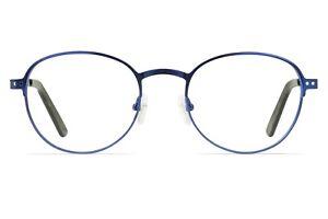 IWEAR 6070 Metal Round Glasses With Prescription Lenses 48-19-142 *New*