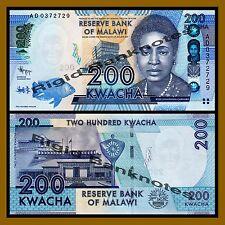 Malawi 200 Kwacha, 2012 P-60 Unc