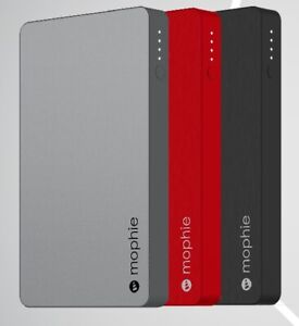 Mophie 5050mAh PowerBank Battery Charger With Lightning Connector Black/Red/Grey