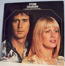 33 tours STONE & CHARDEN LP L'AMOUR PAS LA CHARITE... OLYMPIA 73/74 - AMI 33016