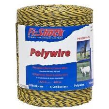 Arame de poliamida para cerca elétrica