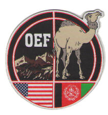 military patch oef enduring freedom afghanistan camel