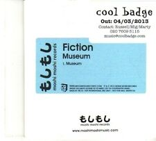(DP880) Fiction, Museum - 2013 DJ CD