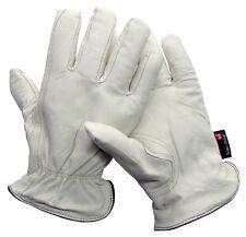 OS SCAN DRIVER Driver Handschuhe Arbeitshandschuhe Lederhandschuhe Größe 7-12