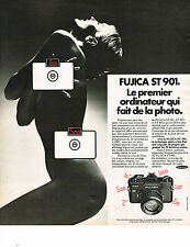 PUBLICITE ADVERTISING  1975   FUJICA  ST 901   appareil photo