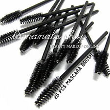 10 pcs Eyelash Eye Lash Disposable Mascara Wand Brush Spoolies Makeup Trendy New