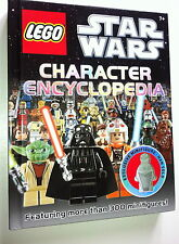 LEGO  STAR WARS CHARACTER ENCYCLOPEDIA - only book - figure not included