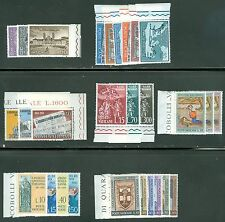 Vatican City 1961 Compete MNH Year Set