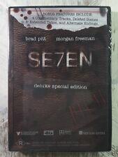 Seven DVD - 2 Disc Set - R4 - New R18+ Thriller Movie MORGAN FREEMAN