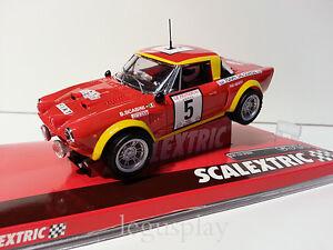 """Slot Scx Scalextric A10220S300 Fiat 124 Abarth Spider """" Bacchelli-Scabini """""""