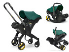 4 in1 Baby Stroller Newborn Infant Car Seat Light Weight Foldable Carriage GREEN
