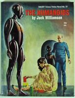 The Humanoids by Jack Williamson 1954 Galaxy Science Fiction Novel No. 21