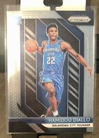 Hamidou Diallo 2018-19 Panini Prizm Base Oklahoma City Thunder Rookie RC #9