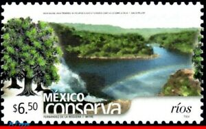 2459 MEXICO 2005 CONSERVATION, RIVERS, TREE, (6.50P), MNH