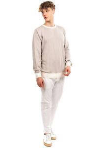 RRP €105 GIOFERRARI Jumper Size 48 / M Ribbed Knit Long Sleeve Crew Neck