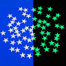 Glow In The Dark Mini Stars 60 Stars by Glowing Imaginations 4M NEW Ceiling Star