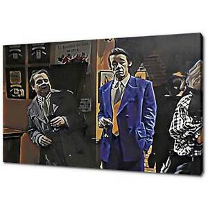 ONLY FOOLS AND HORSES DEL BOY TRIGGER CANVAS PICTURE PRINT WALL ART HOME DECOR
