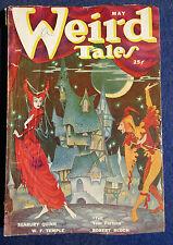 Weird Tales Pulp Magazine - May 1950
