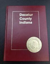 Greensburg Ind Decatur County Ind Westport History book RARE Memorials