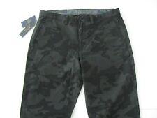 POLO RALPH LAUREN Men's Black Camo Stretch Straight Fit Bedford Chino Pants38x30