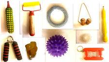 Acupressure (10 in1) Health Kit Foot Body Finger Palm Hand Roller Massager Rings