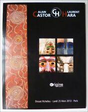 ARTS PREMIERS - AFRIQUE OCEANIE NEPAL AUSTRALIE - CATALOGUE VENTE 25 MARS 2013