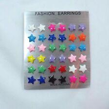 Star Stars Post Stud earring set 18 pair