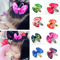 3D Butterfly Bow  Hair Clips Kids Girl Hair Accessories Hairclips Hair Slides