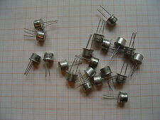 100x BSV12-10 Siemens TO39 ( TO5 ) PNP 80V 1A 5W BC161 BC303 BSV17 BSV82 BSW40