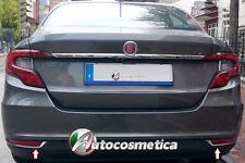 FIAT Tipo Ab 2015 SD Chrom Reflektor Einsätze Blenden 2tlg aus Edelstahl