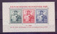 Bizone 1949 - Exportmesse Block 1 postfrisch** - Michel 140,00 € (000)