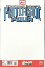 Fantastic Four #1 (2013) - Blank Variant Cover VF+ / NM
