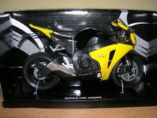 Automaxx HONDA CBR 1000rr / CBR 1000RR amarillo / Amarillo 1:12 moto motocicleta