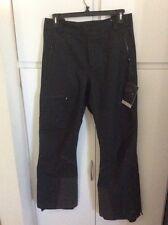 QOR Men's New Small Regular Black Snow-Ski-Downhill-Snow Boarding Pants