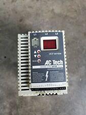 Ac Tech Ac Drive Sf450 Hp 5 3 Phase