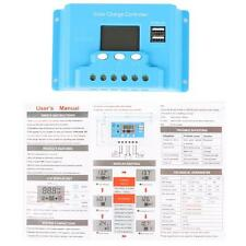 LCD 30A MPPT Solar Panel Battery Regulator Charge Controller 12V/24V