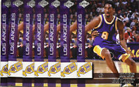 (10) 1999 Collector's Edge Kobe Bryant Los Angeles Lakers KB3 Insert Card Mint