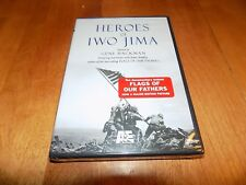HEROES OF IWO JIMA US Marines Marine Pacific War WWII WW2 Hero Navy A&E DVD NEW
