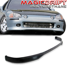 93-97 Honda Del Sol Body Kit JDM TR Type-R Style Front Bumper PU Lip URETHANE