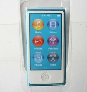 Apple Ipod Nano 16Gb 7Th Generation- Blue With Accessories